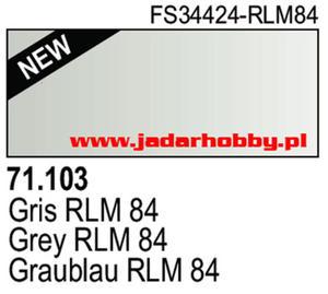 71103 Vallejo Model Air Grey RLM 84 (farba akryl 17ml) - 2824113774