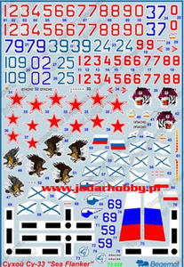"Begemot 72-028 Sukhoi Su-33 ""Sea Flanker"" (1:72) - 2824113777"