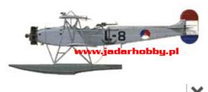 Choroszy B003 Fokker C.VII-W Dutch WWII floatplane (1/72) - 2824113786