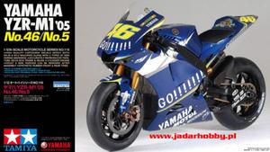 Tamiya 14116 - Yamaha YZR-M1 '05 No46/No.05 (1/12) - 2824101759