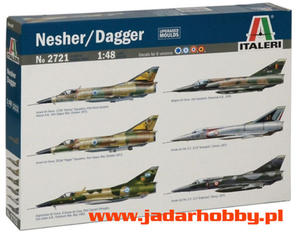 Italeri 2721 Nesher / Dagger (1/48) - 2824113960