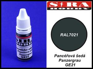 Sira Hobby GE21 Panzergrau RAL7021 (Farba akrylowa 12ml) - 2824111687