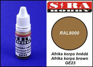Sira Hobby GE23 Afrika Korps Brown RAL8000 (Farba akrylowa 12ml) - 2824112087