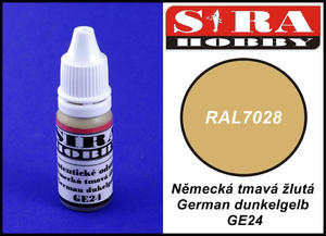 Sira Hobby GE24 German Dunkelgelb RAL7028 (Farba akrylowa 12ml) - 2824111846
