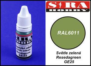 Sira Hobby GE25 Resedagreen RAL6011 (Farba akrylowa 12ml) - 2824111847