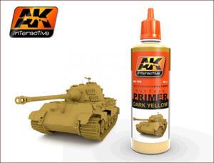 AK Interactive AK176 Dark Yellow Primer (60ml) - 2824101610
