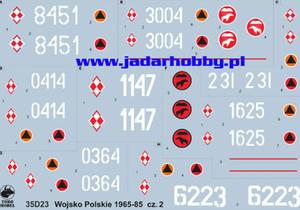ToRo 35D23 Wojsko Polskie 1965-85 cz.2 (1/35) - 2824101601
