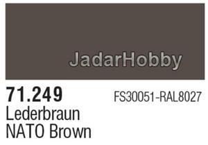 71249 Vallejo Model Air NATO Brown (farba akryl 17ml) - 2824106858