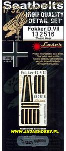 HGW 132516 Fokker D.VII - Seatbelts (1/32) - 2824098220