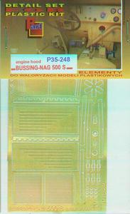 Part P35248 Bussing-NAG 500 S Engine Hood (1/35) - 2824114333