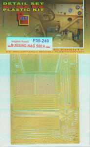 Part P35249 Bussing-NAG 500 A Engine Hood (1/35) - 2824114334
