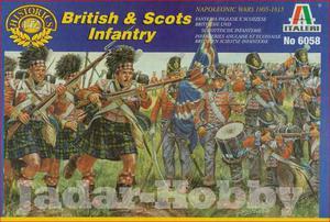 Italeri 6058 - Piechota brytyjska i szkocka (1/72) - 2824098653