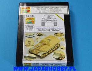 Aber 35K14 Sd.Kfz.184 Elefant - Super Set! (1/35) - 2824114369