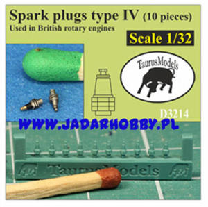Taurusmodels D3214 Spark Plugs type IV (10 pieces) (1/32) - 2824114518