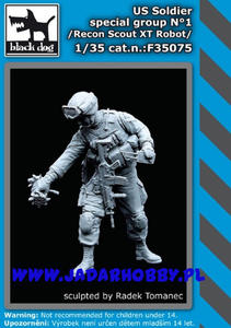 Black Dog F35075 US Soldier special group Nr 1 (1/35) - 2824114662