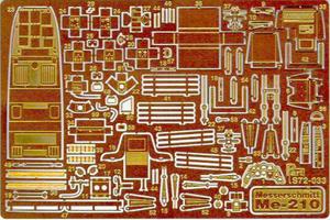 Part S72033 - Messerschmitt Me-210 (1/72) - 2824096869