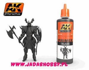 AK Interactive AK178 Black Primer (60ml) - 2824114765