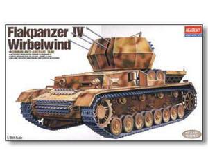 Academy 1333 - Wirbelwind - niemieckie działo plot. (1/35) - 2824098902