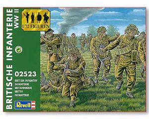 Revell 02523 - Brytyjska piechota (1/72) - 2824098743