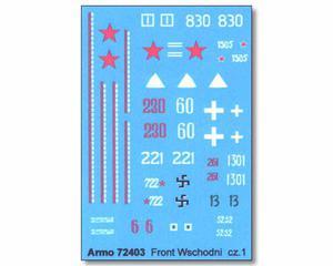 Armo 72403 - Front Wschodni vol.1 (kalkomania 1/72) - 2824099310
