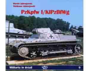Militaria D09 - Pz.Kpfw.I / KiPz.BfWg - 2824097095