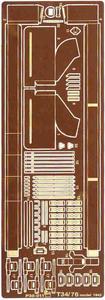 Part P35011 T-34/76 (1943) Fenders (1/35) - 2824096611