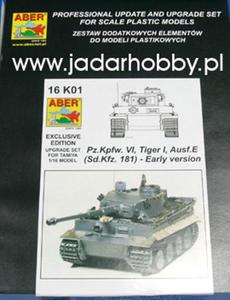 Aber 16K01 - Pz.Kpfw. VI, Tiger I, Ausf.E (1/16) - 2824100381