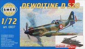 Smer 0837 Dewoitine D 520 (1/72) - 2824101518