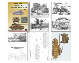 Trojca 20 ENG - Sd.Kfz.161 Panzer IV Ausf.G/H/J (książka) - 2824101667