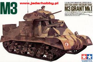 Tamiya 35041 - M3 Grant Mk.I (1/35) - 2824101762