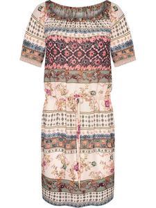 Sukienka damska Doroteja, wiosenna kreacja w modnym wzorze. - 2848020370