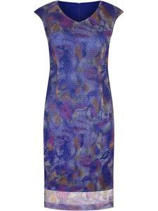 Sukienka damska Klarens IX, wiosenna kreacja z przewiewnej tkaniny. - 2850618223