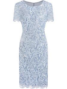 Sukienka damska Safira IX, elegancka kreacja z koronki. - 2850902700