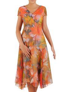 Elegancki kostium na lato Marianna, zwiewna sukienka z żakietem. - 2852553144