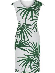 Wiosenna sukienka w modny wzór Oksena II. - 2852411523