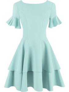Sukienka damska Giovanna IV, letnia kreacja w modnym fasonie. - 2853070492