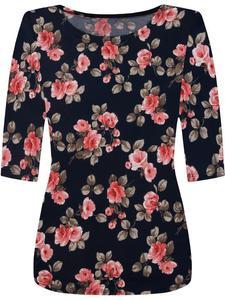 Modna bluzka w kwiatowy wzór Ulryka VIII. - 2856554609