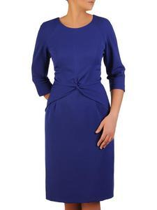 Sukienka damska Dolores, modna kreacja w chabrowym kolorze. - 2824753473