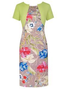 Sukienka w kwiaty Fiona III, wiosenna kreacja w modnym wzorze. - Fiona III - 2824753566