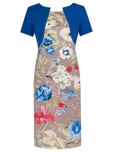 Sukienka w kwiaty Fiona I, wiosenna kreacja w modnym wzorze. - Fiona I - 2824753568