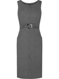 Sukienka princeska Rota VI, stylowa kreacja z ozdobną klamrą. - 2842013210