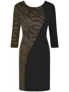 Sukienka wieczorowa Suzana I, wyszczuplająca kreacja z delikatnym połyskiem. - 2824753827