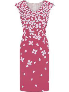 Sukienka damska Widia II, wiosenna kreacja w modnym wzorze. - Widia II - 2824754014