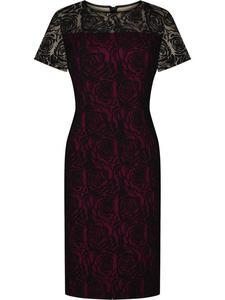Sukienka wieczorowa Celina, elegancka kreacja z koronki. - 2824754365