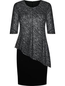 Modna sukienka wizytowa Benedykta VIII, elegancka kreacja na wesele. - 2845615859