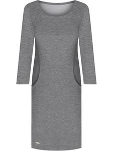 Sukienka z modnymi kieszeniami Belinda IV, dzianinowa kreacja na sezon jesienny. - 2841331204