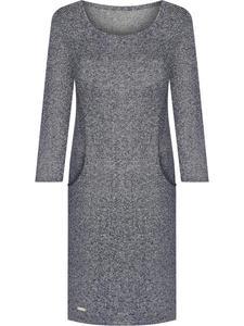 Sukienka z modnymi kieszeniami Belinda III, dzianinowa kreacja na sezon jesienny. - 2841331205