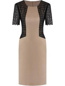 a6a76310 Sklep: bass sukienka dzianina promyki kolor cappuccino