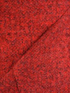 Wełniany płaszcz z dekoracyjnym guzikiem Gizela. - 2842662948