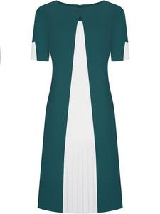 Sukienka wyszczuplająca Dorota VI, modna kreacja na wiosnę. - 2855031711